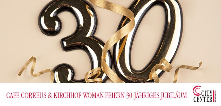 Café Correus und Kirchhof woman feiern 30-jähriges Jubiläum!